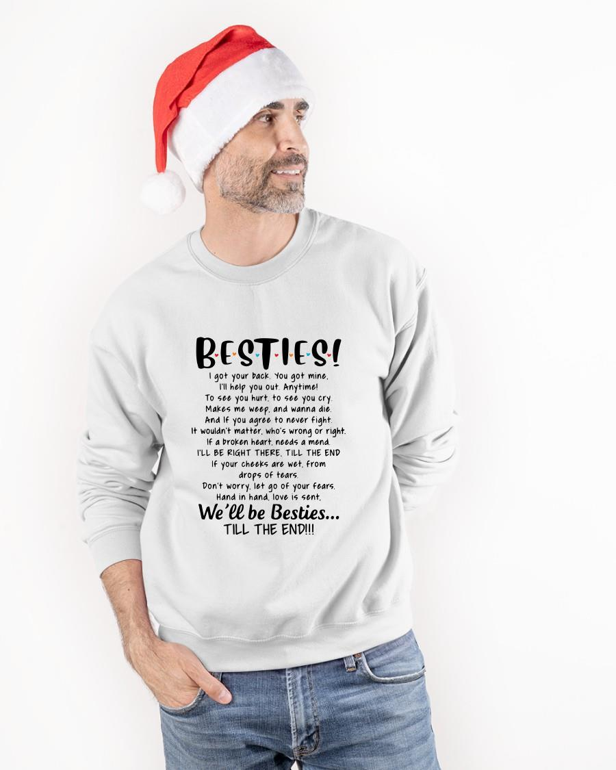 Bestie I Got Your Back You Got Mine I'll Help You Out Longsleeve
