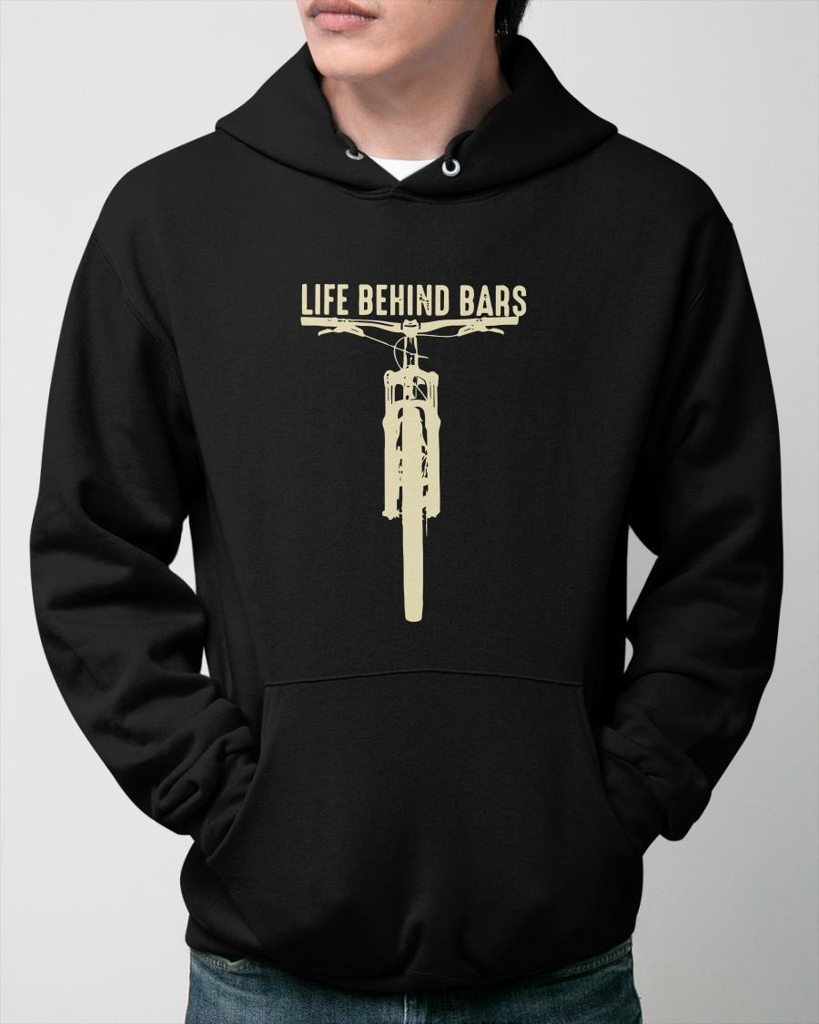 Bicycle Life Behind Bars Hoodie