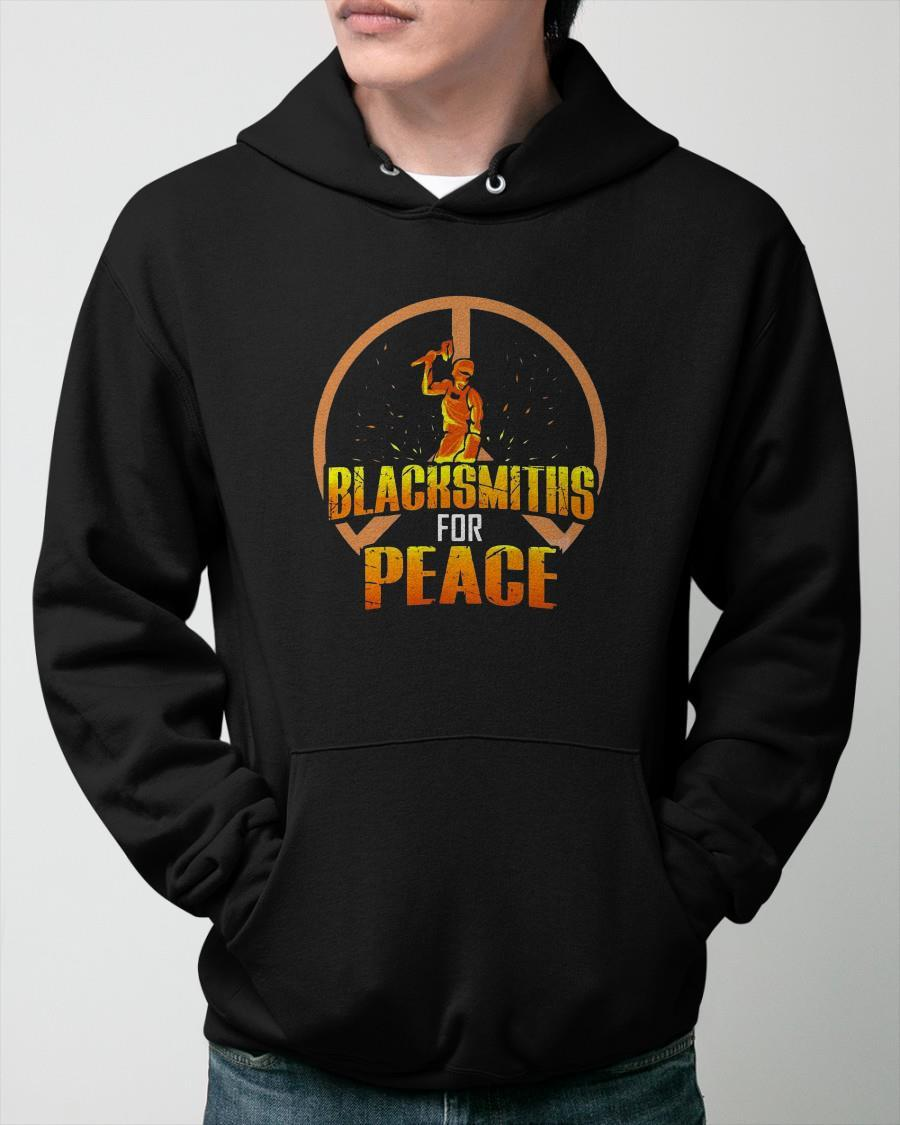Blacksmiths For Peace Hoodie