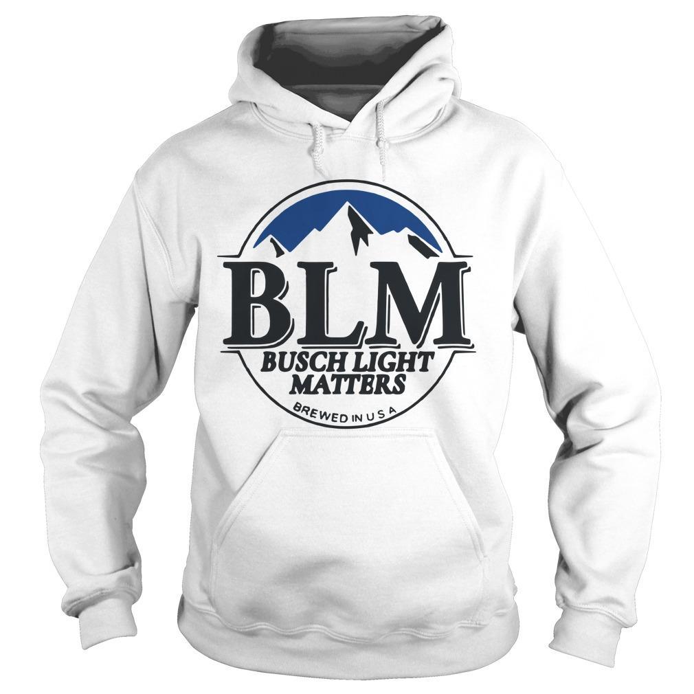 Blm Busch Light Matters Hoodie