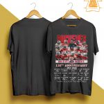 Buckeyes Ohio State 130th Anniversary Thank You For The Memories Shirt