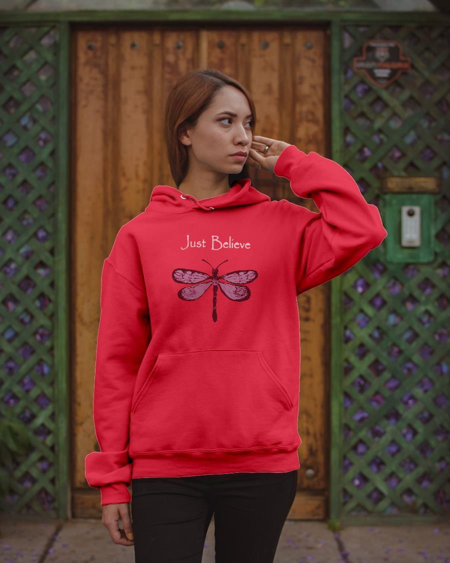 Butterfly Just Believe Hoodie