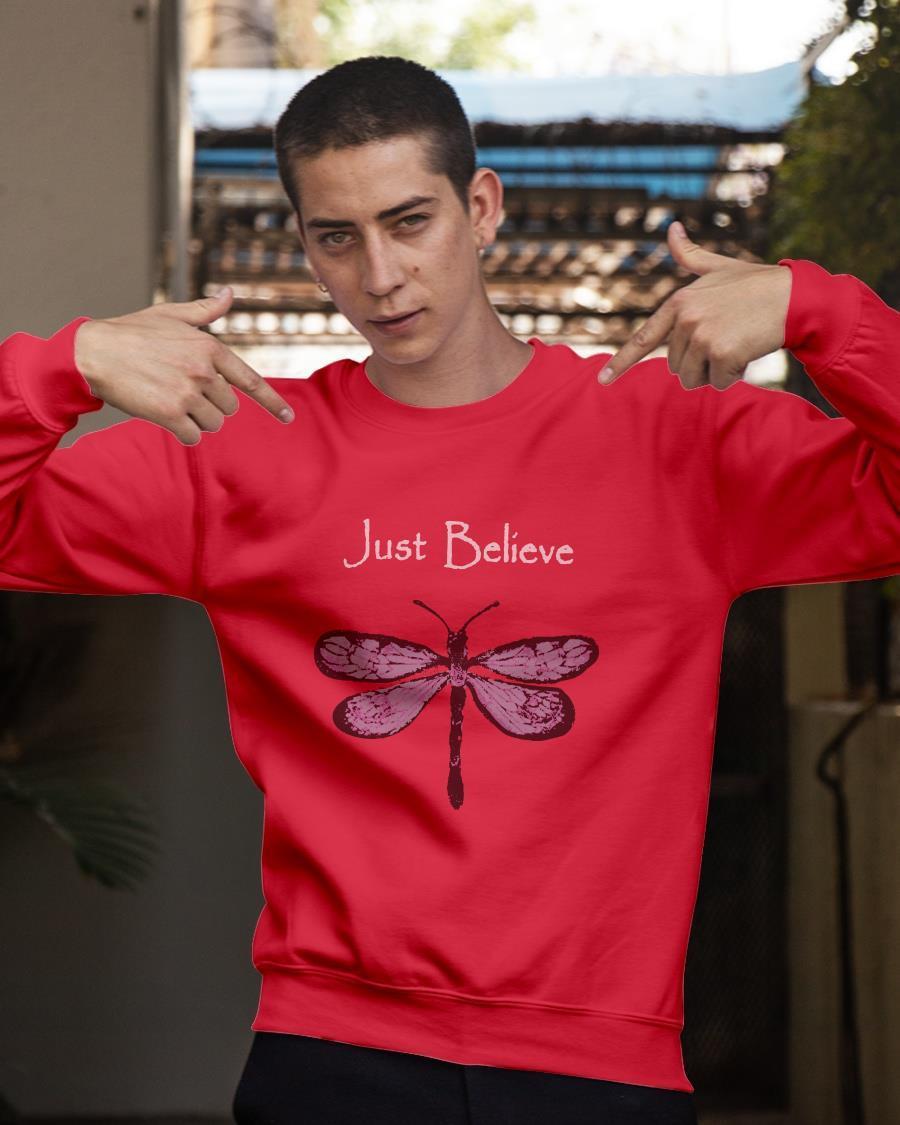 Butterfly Just Believe Tank Top