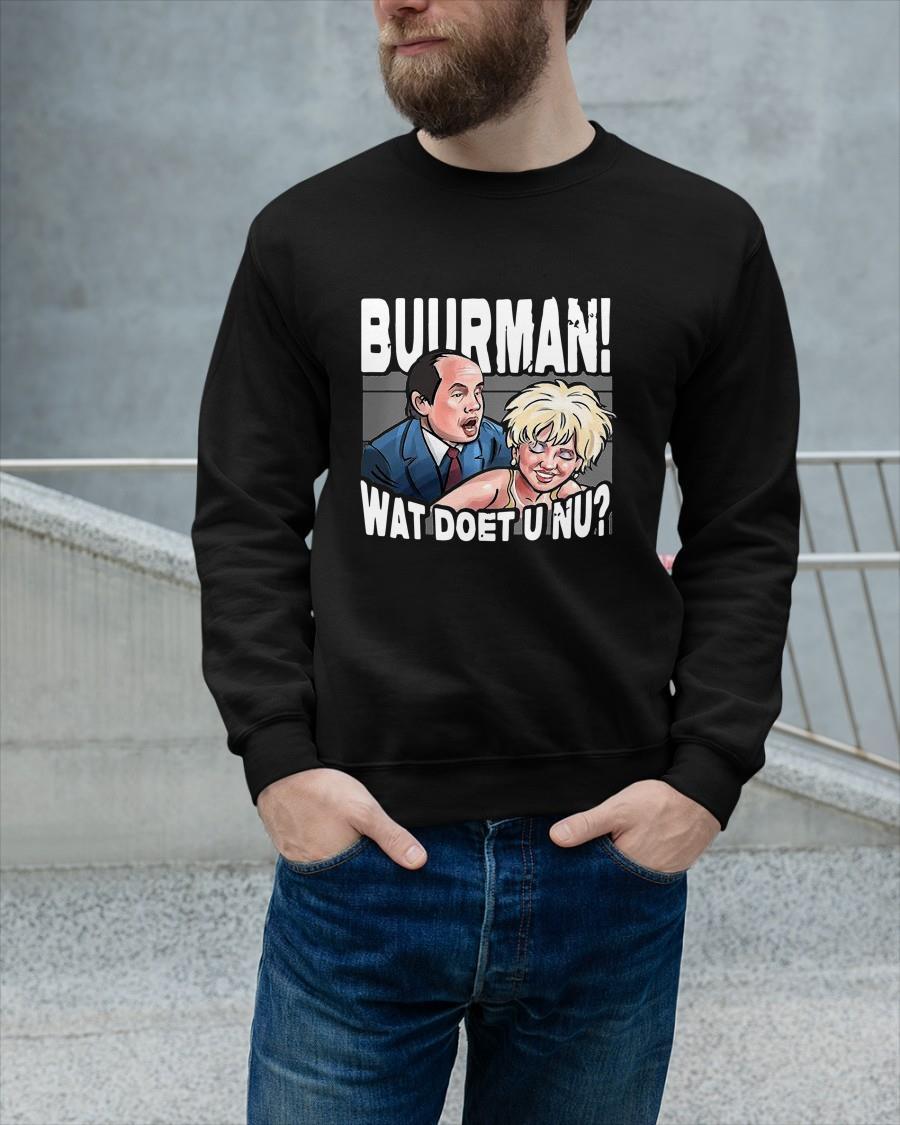 Buurman Wat Doet U Nu Sweater