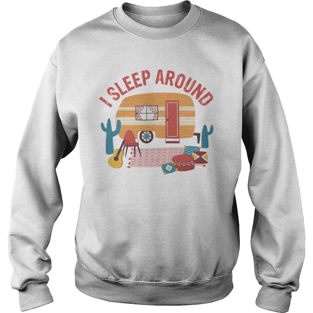 Camping I Sleep Around Sweater