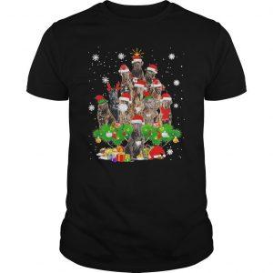 Cane Corso Christmas Tree Lights Shirt