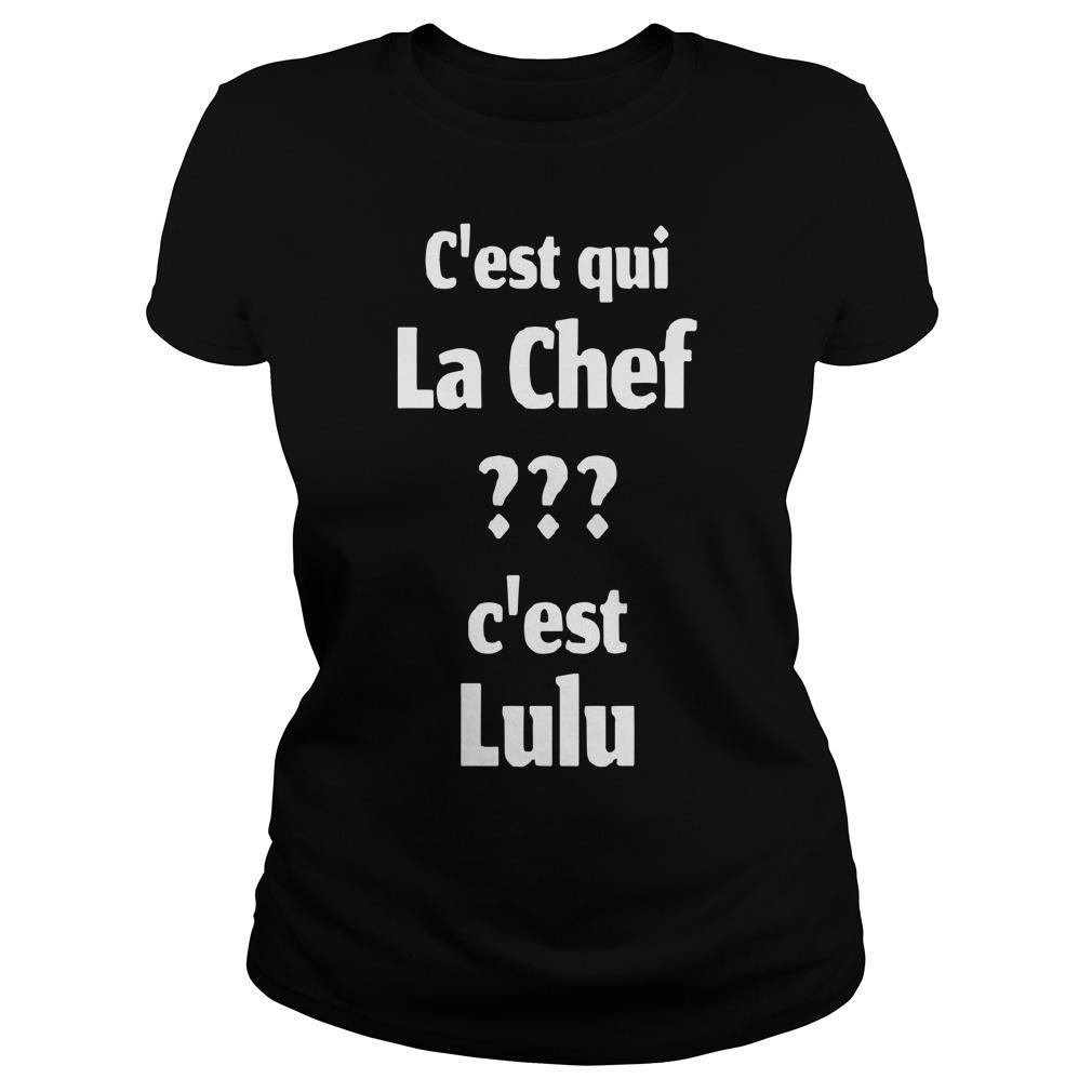C'est Qui La Chef C'est Lulu Longsleeve