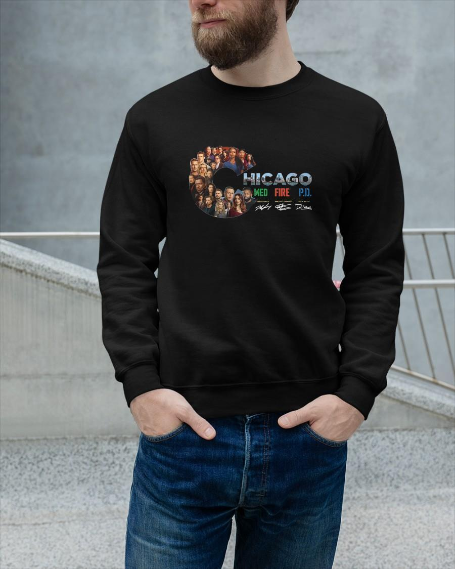 Chicago Med Fire Pd Signature Sweater