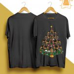 Christmas German Shepherd Tree Shirt