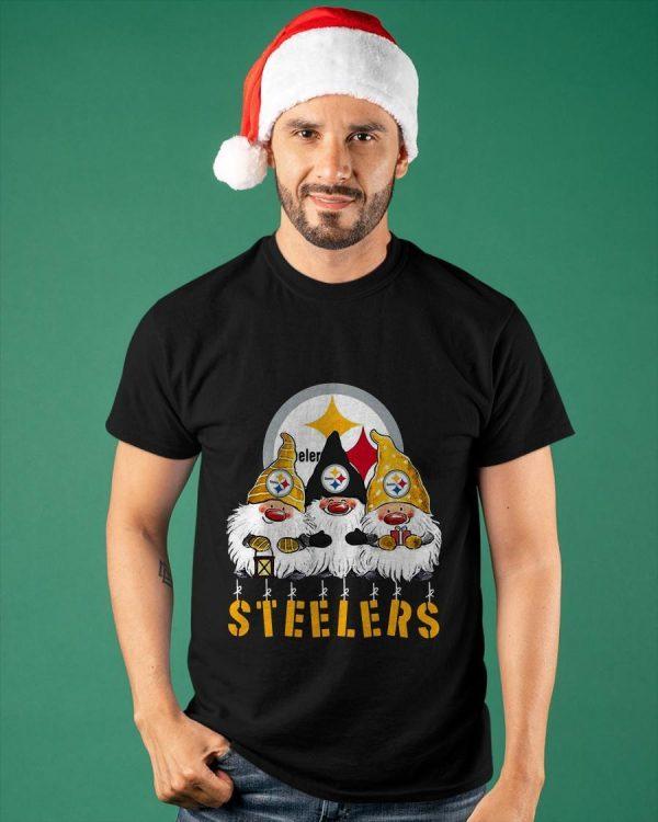 Christmas Gnomes Steelers Shirt