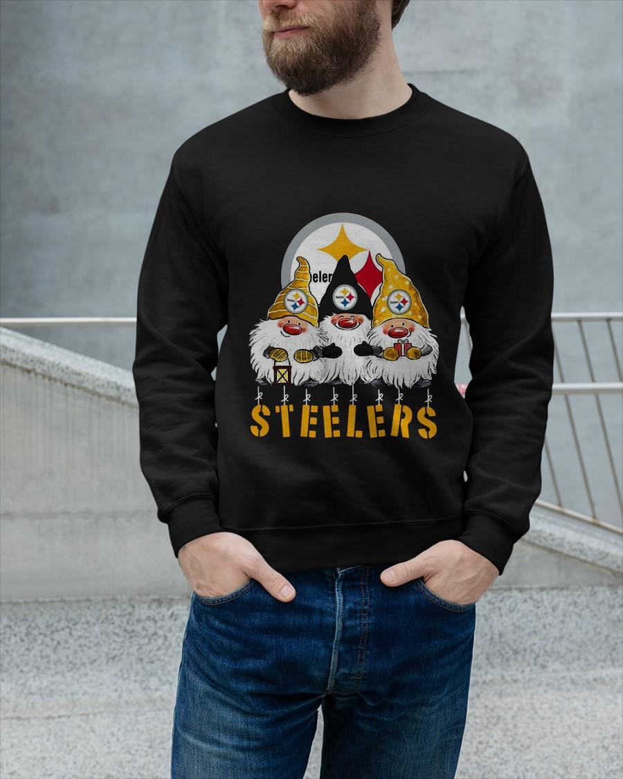 Christmas Gnomes Steelers Sweater