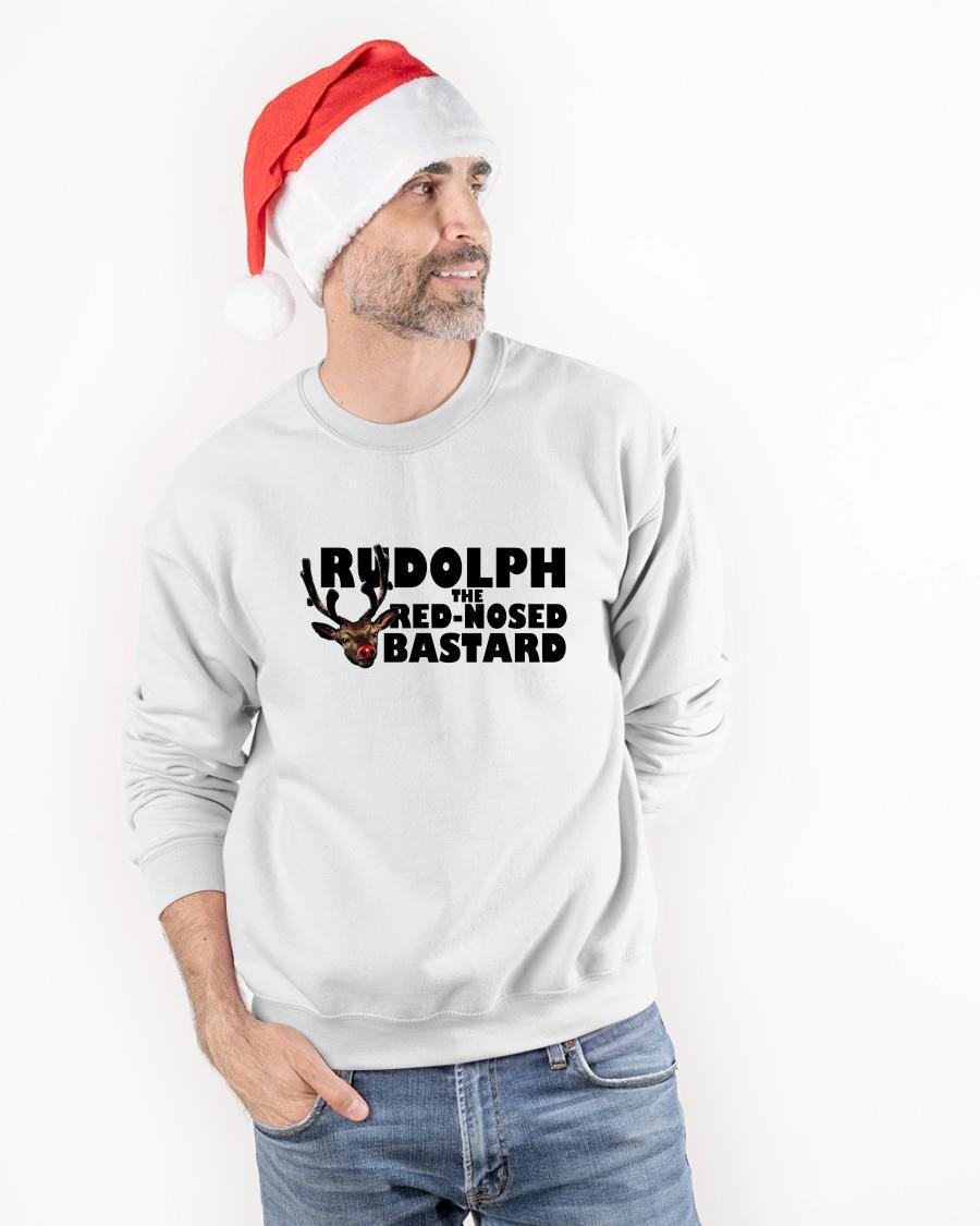 Christmas Rudolph The Red-nosed Bastard Sweater