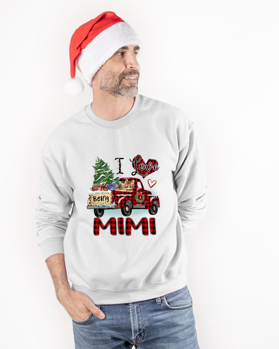 Christmas Truck I Love Being Mimi Tank Top