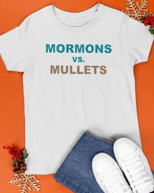 Coastal Carolina Football Mormons Vs Mullets Shirt