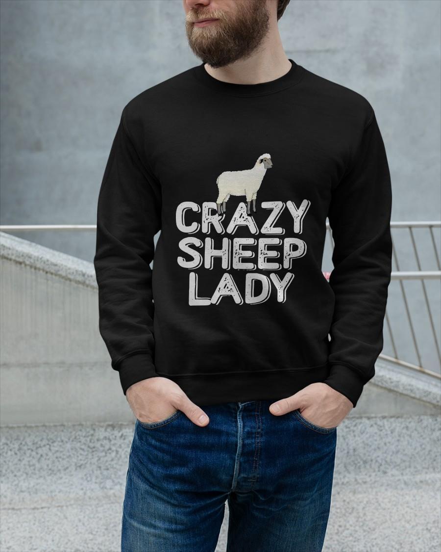 Crazy Sheep Lady Sweater