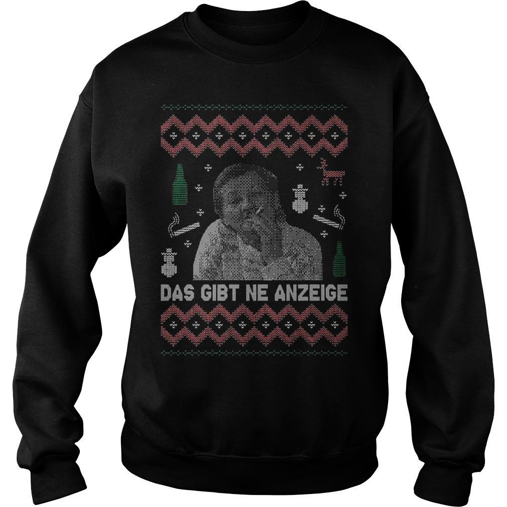 Das Gibt Ne Anzeige Sweater