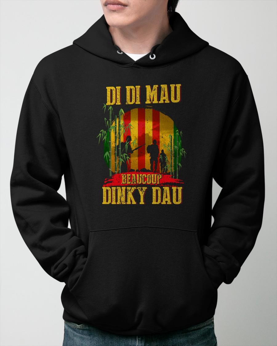 Di Di Mau Beaucoup Dinky Dau Hoodie