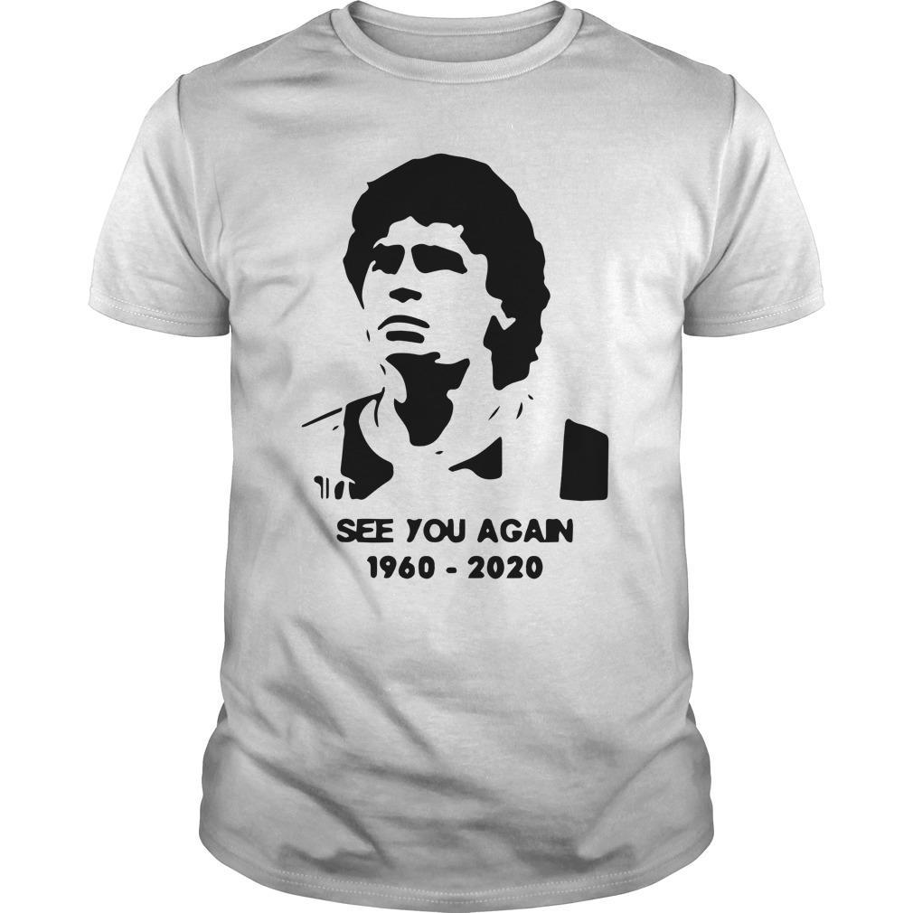 Diego Maradona See You Again 1960 2020 Longsleeve
