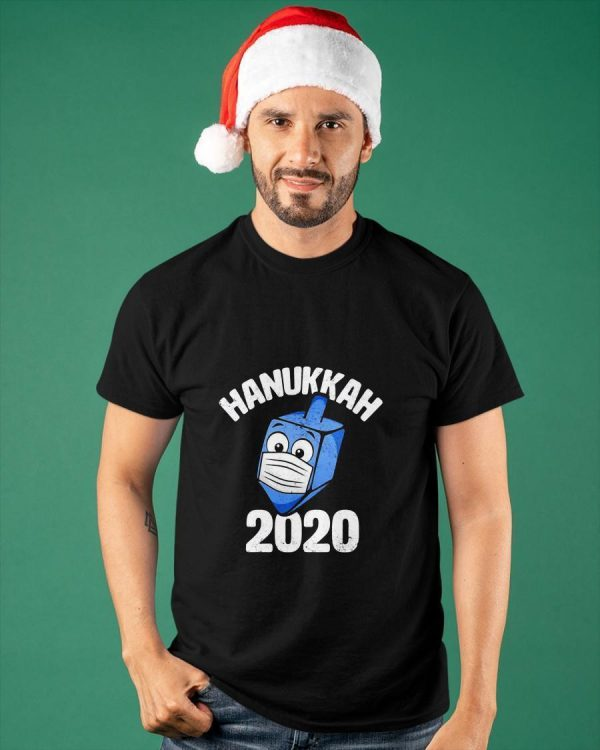 Dreidel Wearing Face Mask Hanukkah 2020 Shirt