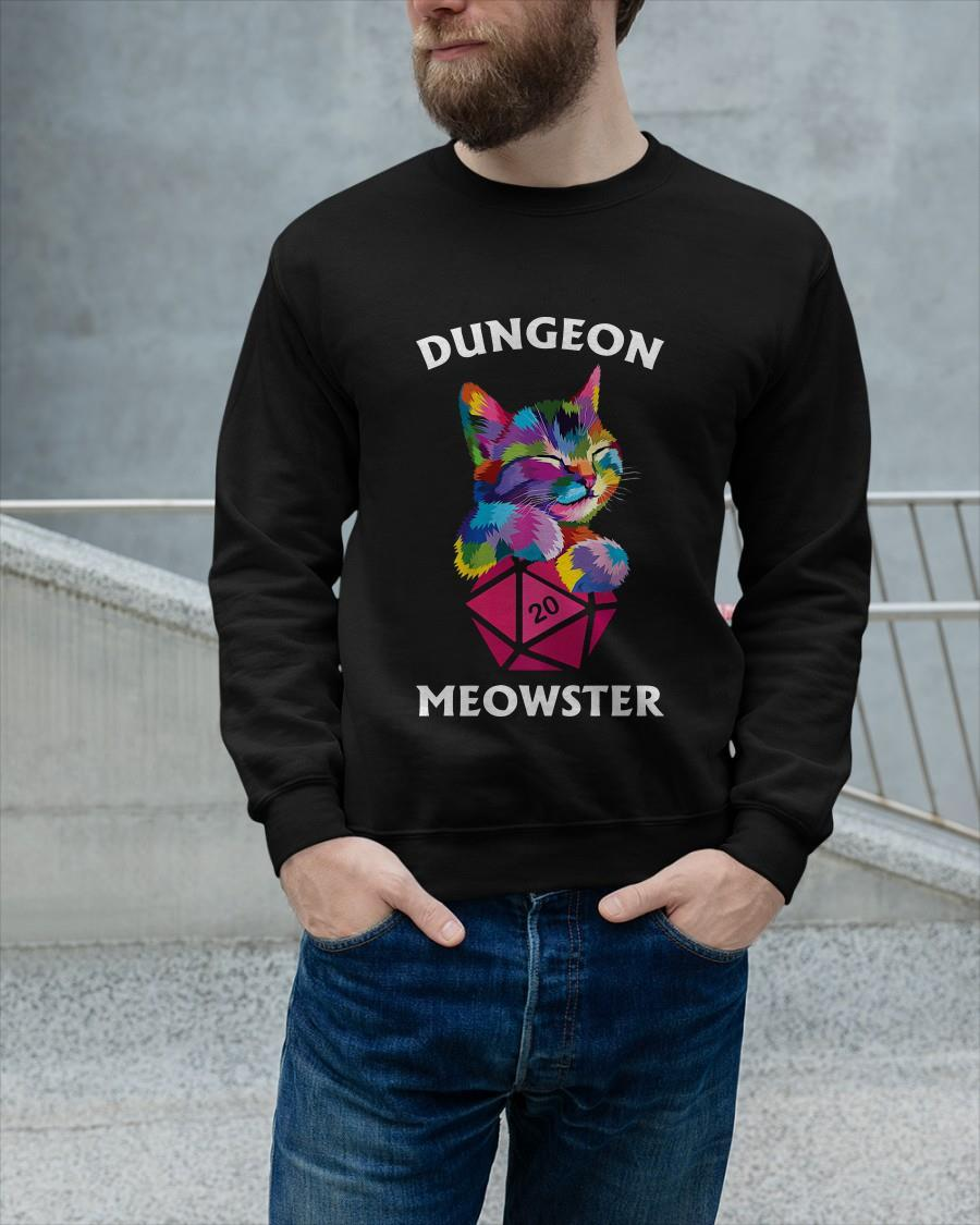 Dungeon Meowster Sweater