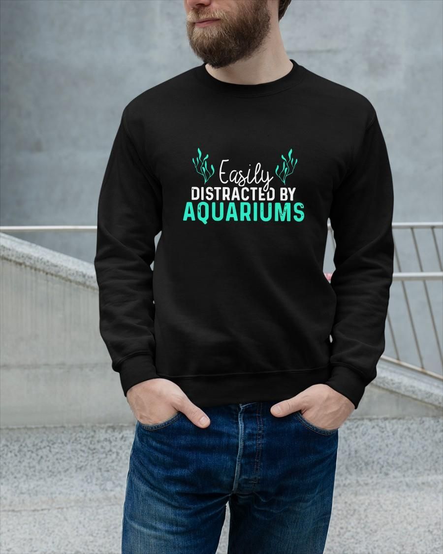 Easily Distracted By Aquariums Sweater
