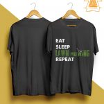 Eat Sleep Lawn Mowing Repeat Shirt