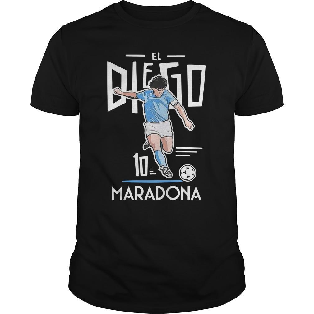 El Diego Maradona 10 Longsleeve