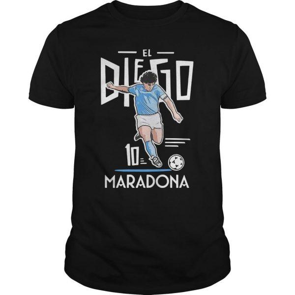 El Diego Maradona 10 Shirt