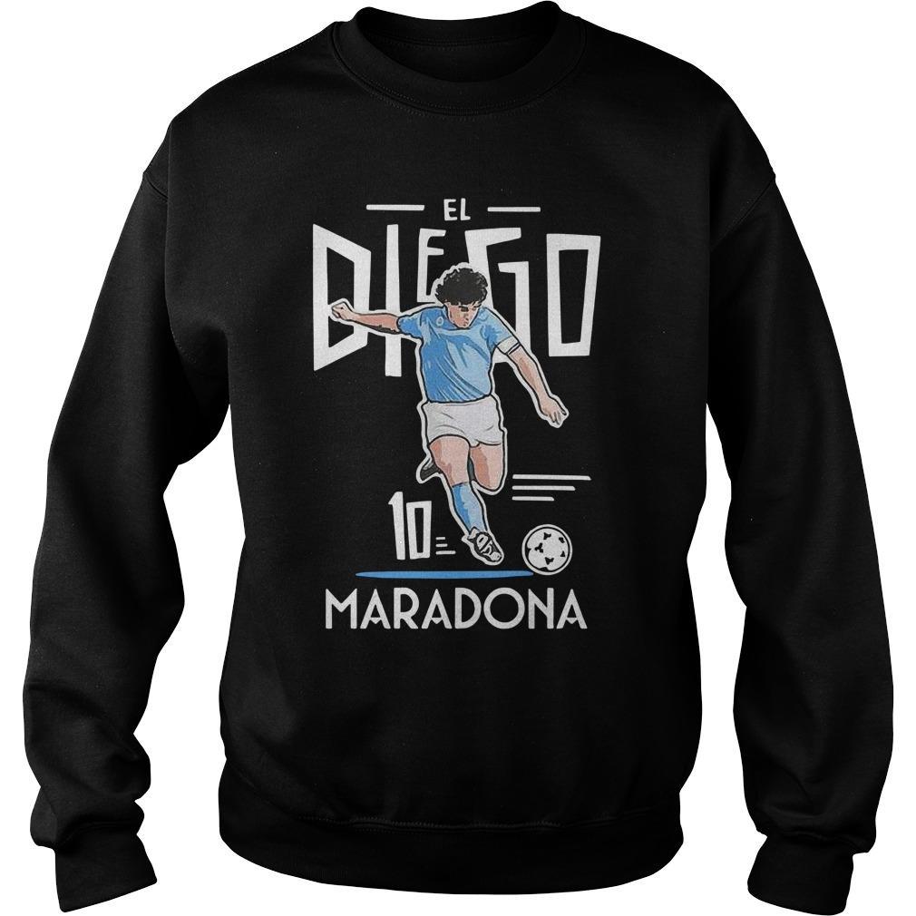 El Diego Maradona 10 Sweater