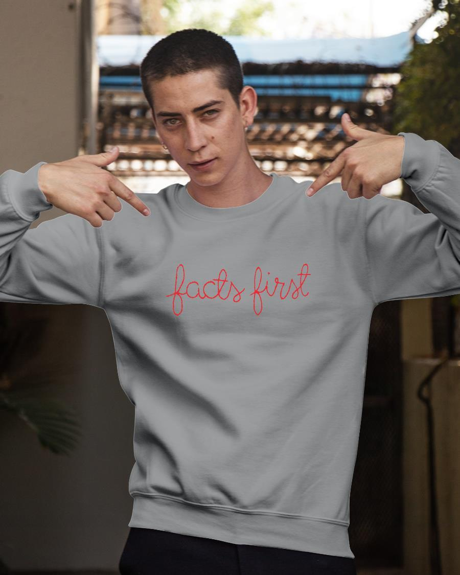 Facts First Sweater Sweater