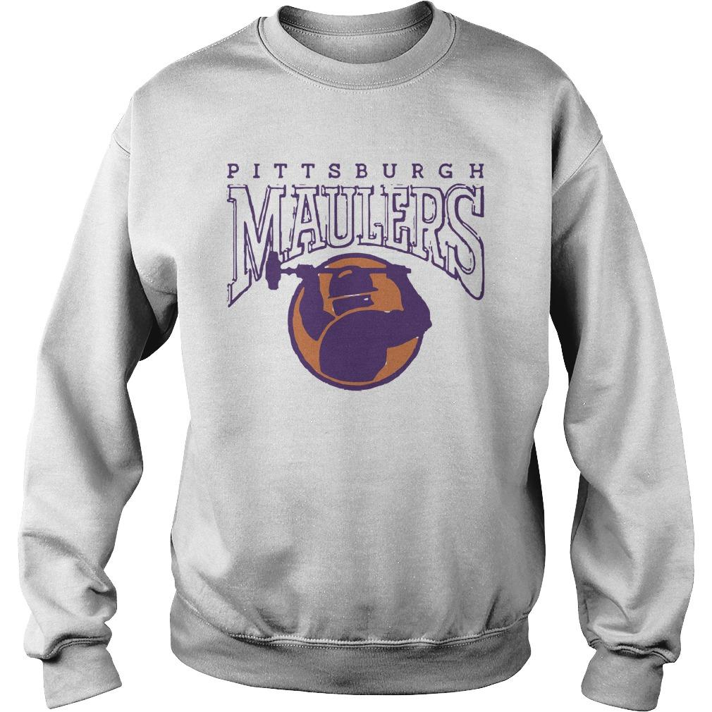 Football Pittsburgh Maulers Sweater