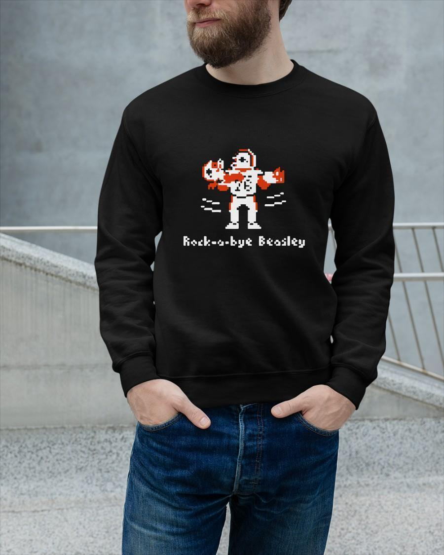 Football Rock A Bye Beasley Sweater