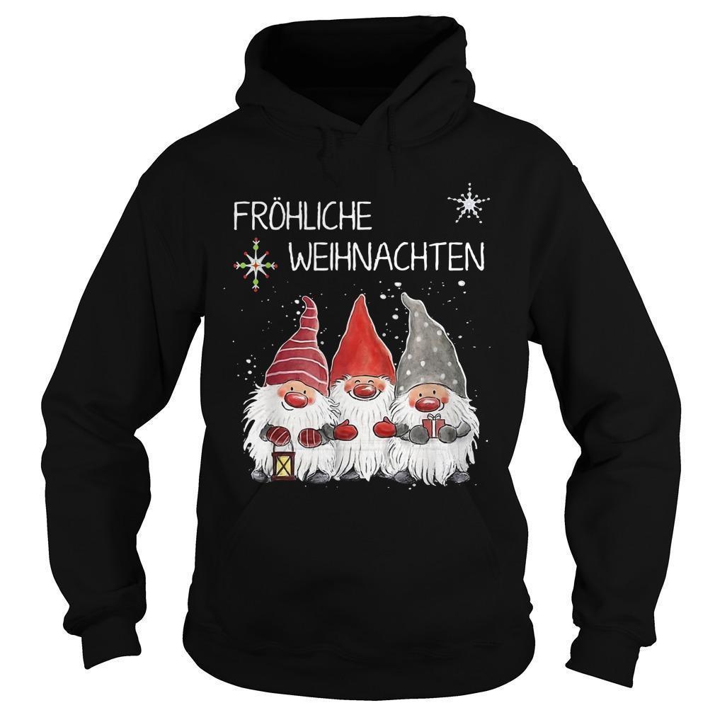 Fröhliche Weihnachten Hoodie