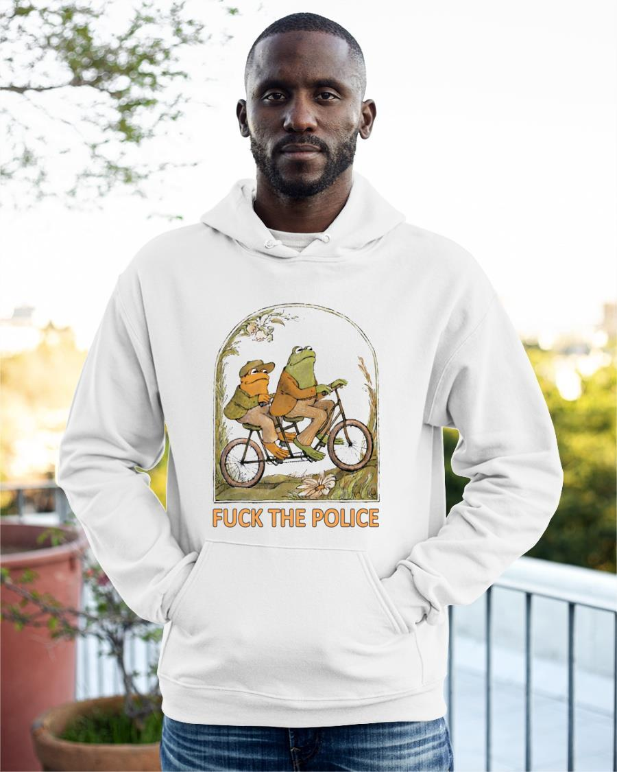 Fuck The Police Frog Hoodie