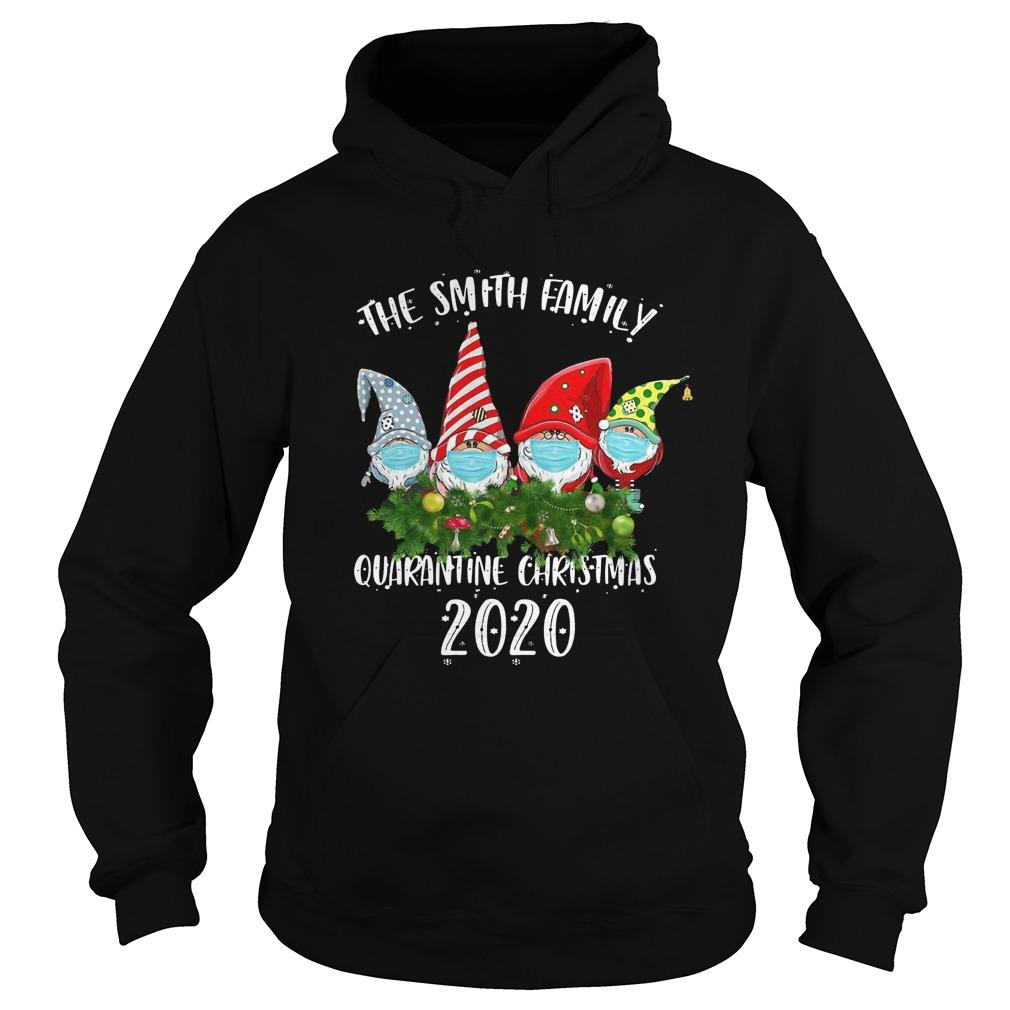 Gnomes Face Mask The Smith Family Quarantine Christmas 2020 Hoodie