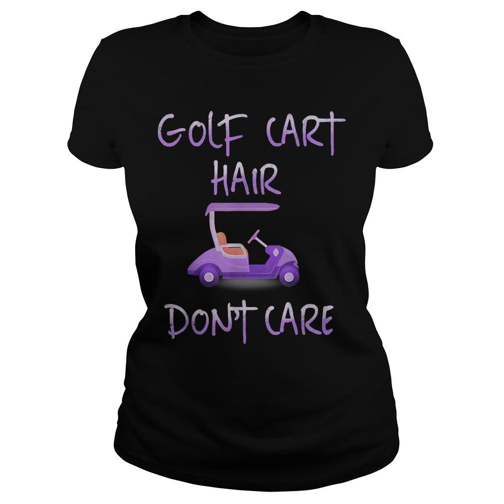 Golf Cart Hair Don't Care Longsleeve