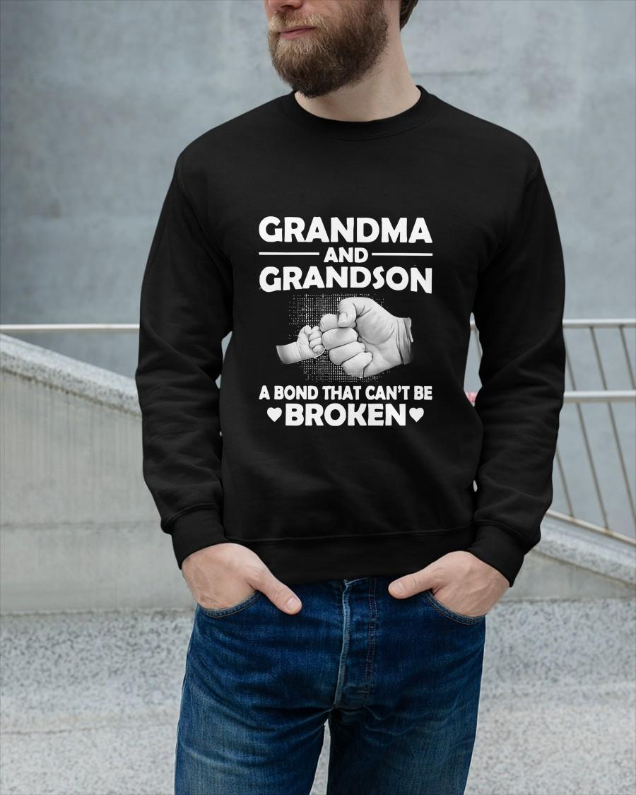 Grandma And Grandson A Bond That Can't Be Broken Sweater