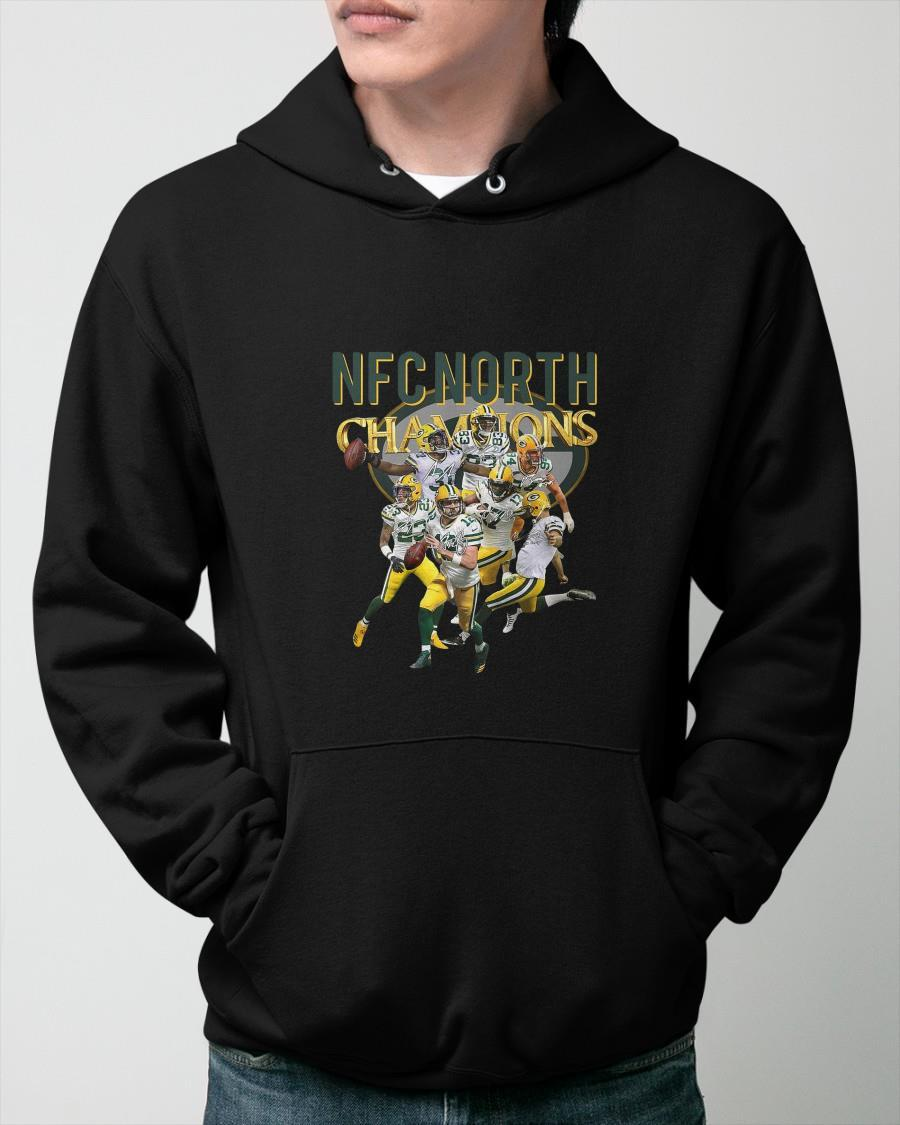 Green Bay Packers NFC North Champions Signatures Hoodie