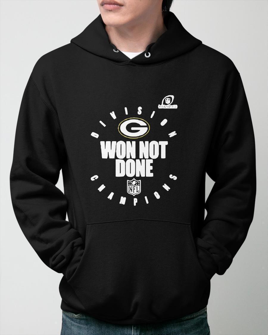 Green Bay Packers NFL Division Champions Won Not Done Hoodie