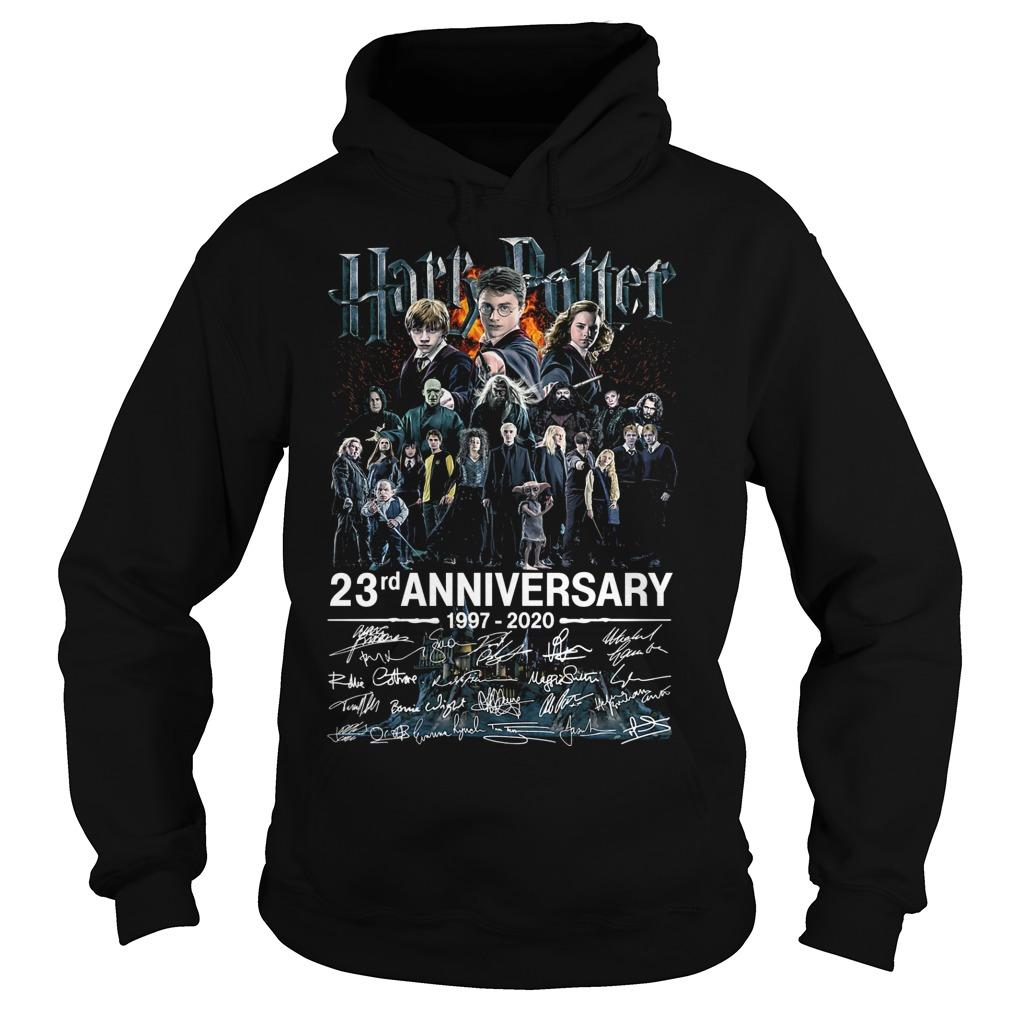 Harry Potter 23rd Anniversary 1997 2020 Signatures Hoodie