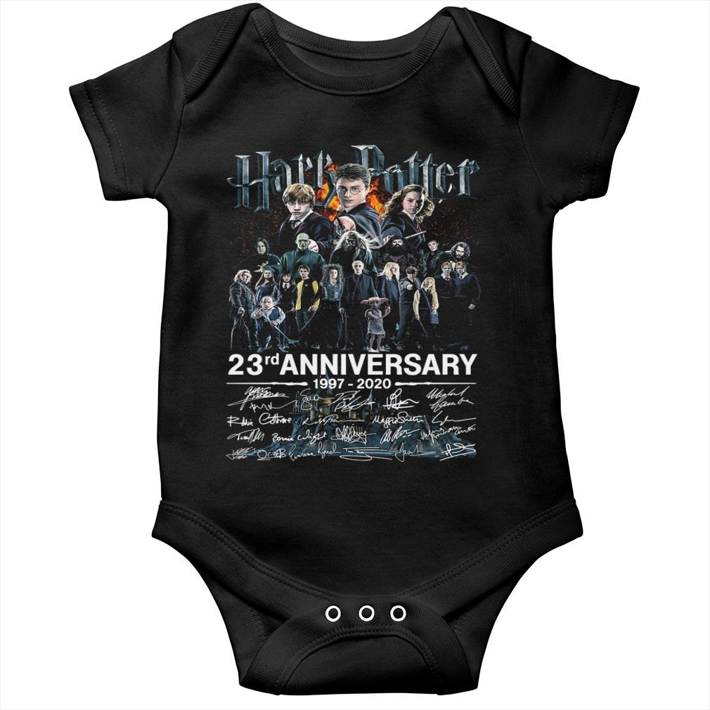Harry Potter 23rd Anniversary 1997 2020 Signatures Longsleeve