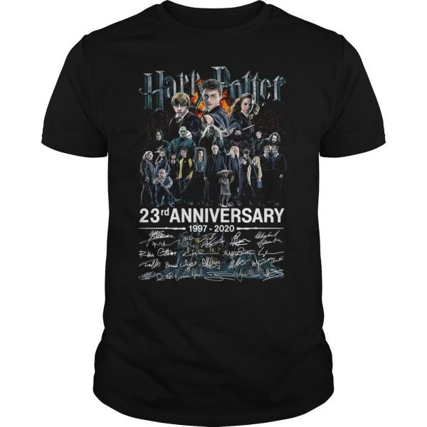 Harry Potter 23rd Anniversary 1997 2020 Signatures Shirt