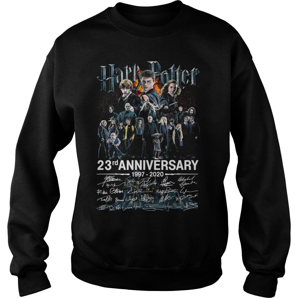 Harry Potter 23rd Anniversary 1997 2020 Signatures Sweater