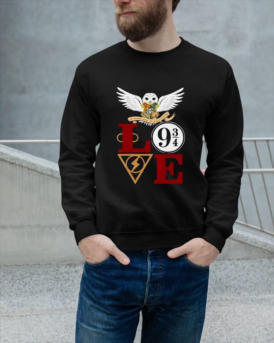 Harry Potter Owl Love 9 34 Longsleeve