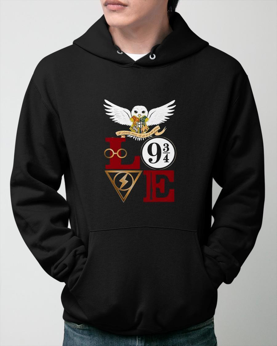Harry Potter Owl Love Hoodie