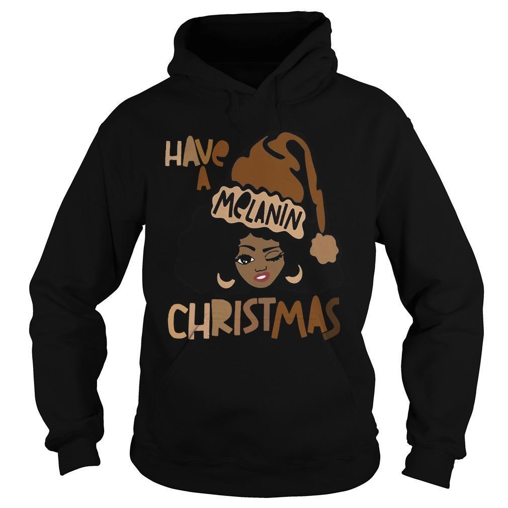 Have A Melanin Christmas Hoodie