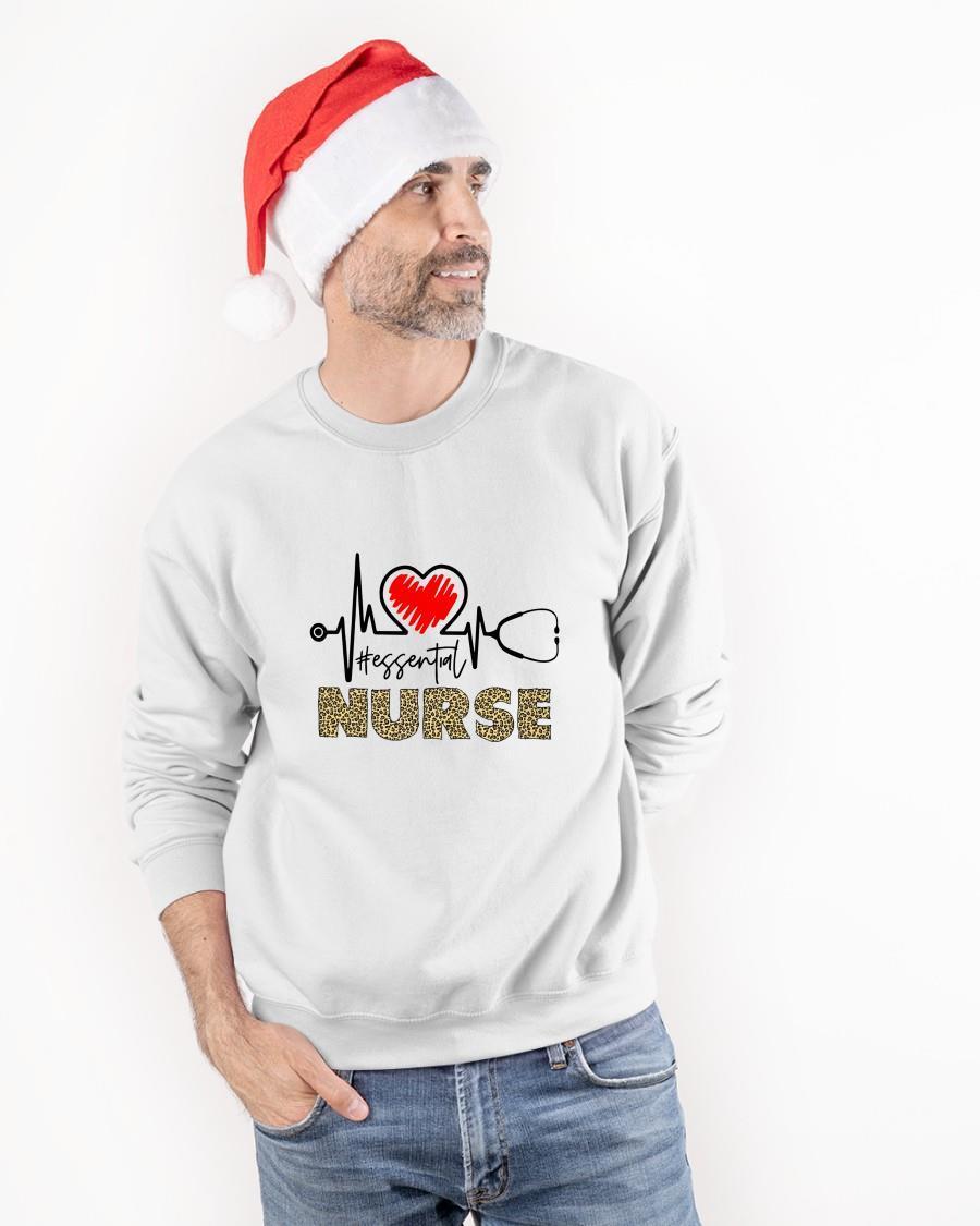 Heartbeat #essential Nurse Longsleeve