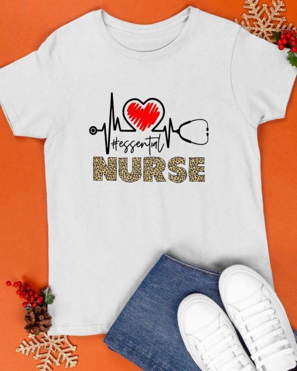 Heartbeat #essential Nurse Shirt