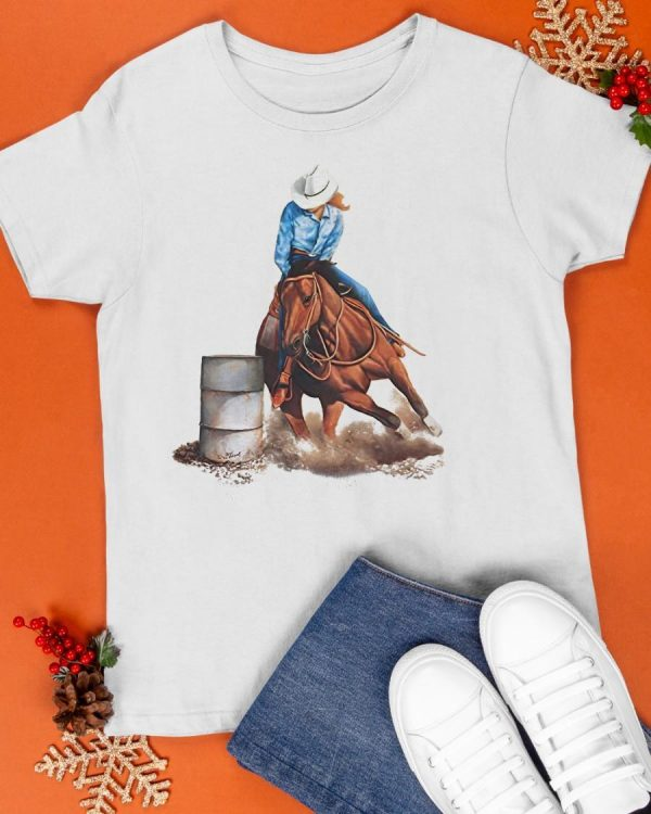 Horse Barrel Racing Shirt