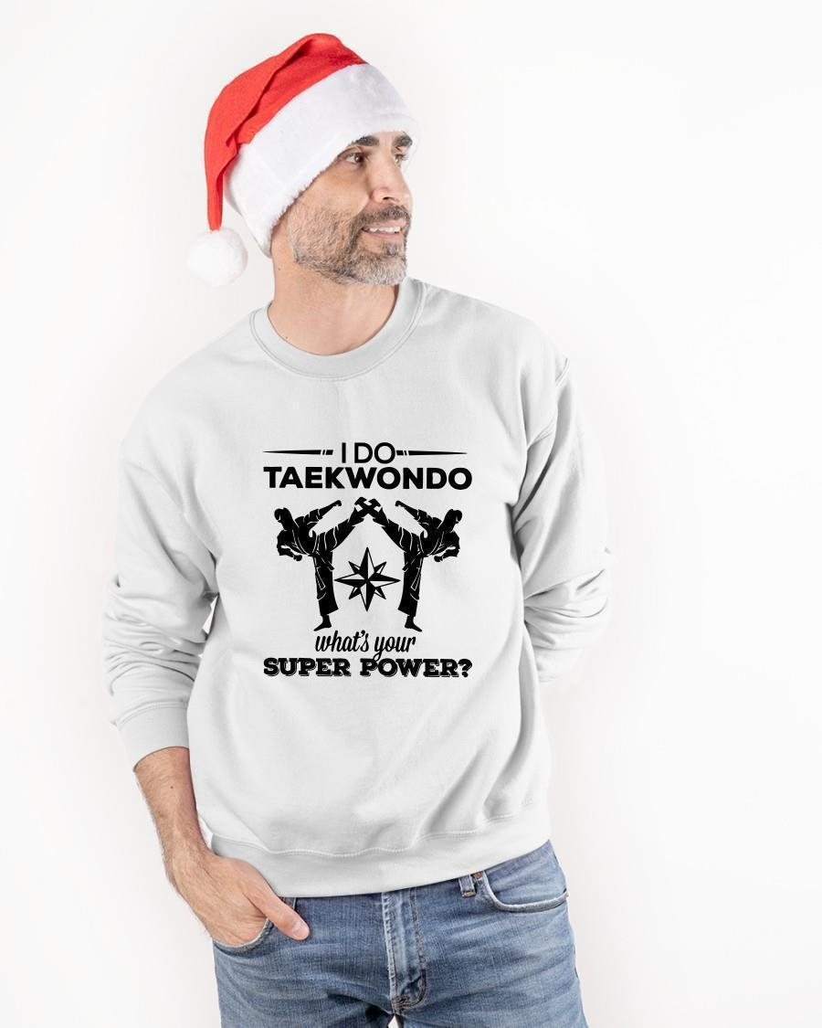 I Do Taekwondo What's Your Superpower Tank Top